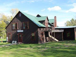 5 Bedroom Lakefront Lodge on Moosehead Lake