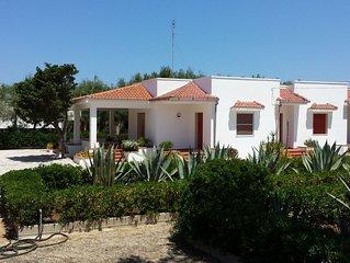 GALLIPOLI LIDO PIZZO Villa a 20 passi dal mare con Campo da tennis