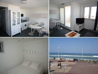 Charmant appartement 4 personnes front de mer à Lacanau Océan