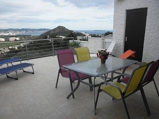 Villa Mandelieu dans domaine privé et calme avec piscine et tennis