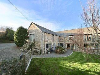 Dog friendly barn conversion 5 mins from Crackington Haven beach, Bude, Cornwall