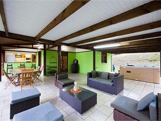 Villa Du Petit Paradis sur la commune du carbet vue mer des caraibes