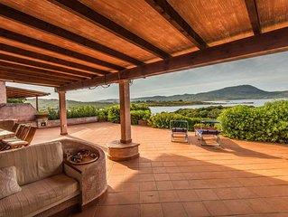 Costa Corallina Spettacolare Villa con spiaggia sotto casa e vista meravigliosa
