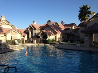 Pools, hot tub,Tennis , Gated Resort, 2 Bed, 2 Bath, Furnished Goodyear condo
