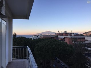 La Musica elegant 3 bedrooms apartment with Sea Views in the heart of Sorrento