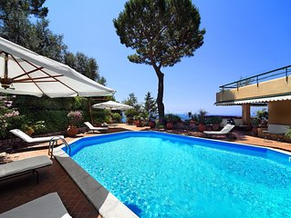 Great outdoor living in this simply breathtaking villa