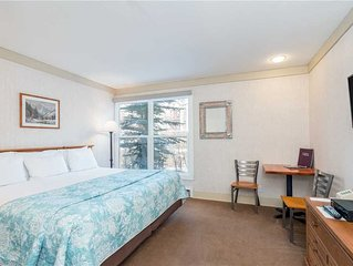 Flexible Cancellations - Riverside Hotel Room at the Affordable Mountainside Inn