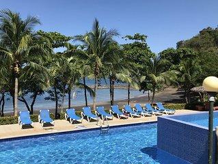 Spectacular Completely Remodeled Beach Front Villa at  Bahia Pez Vela Resort