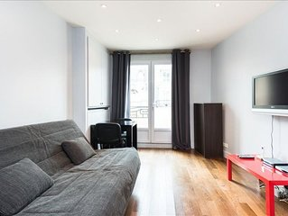 Chaillot apartment in 16ème - Bois de Boulogne - Trocadero with WiFi, balcony &