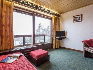 Résidence Pierre & Vacances Le Mont d'Arbois*** - Studio 4 Personnes Balcon