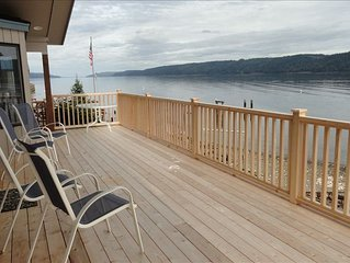 Waterfront Home with Gorgeous Views of Hood Canal