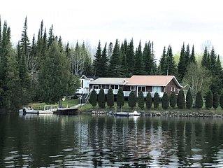 Lake Pivabiska Island Cottage