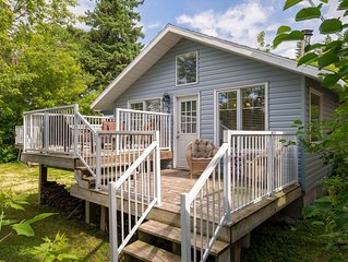 **HOT DEALS - JUNE book 3nts & get 4th 1/2 off* GORGEOUS across from Sylvan Lake