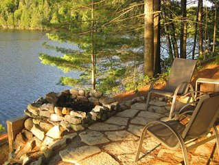 Charming, spacious well-appointed Baptiste Lake cottage -- a short drive to Banc