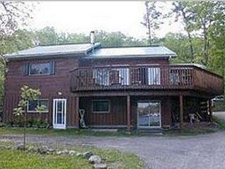 Log Cottage For Rent On Rice Lake - Ontario