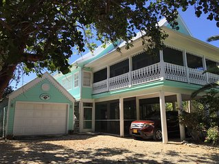Charming Caymanian Style Rental Home with Private Pool - 3 bdr 3 bath