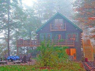 Cozy Lake Ossipee All Season Cabin