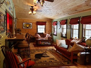 Cozy 2 bedroom Whiteface Mtn Cabin (long term rent discount avail May/June)