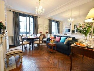 2 Bedroom Parisian Apartment Close to Eiffel Tower