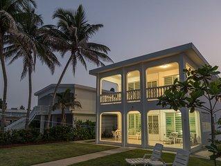 Casa Playa Beachfront Home - Best Location for Swimming!