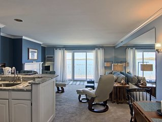 1BR Beachfront Condo 208 on Gorgeous Lake Charlevoix in Boyne City!