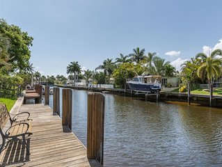 Gorgeous House On the Water, Ocean Access. Fort Lauderdale, Miami Area