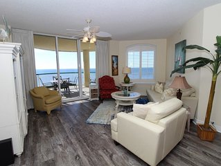 Beach Colony East 13C-Beach Front unit with large terrace & amazing view!