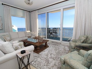 Indigo East 2001- Beach Front Unit with Luxurious Interior and Amenities!