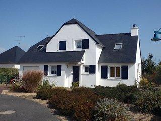 Vaste Maison St Gildas proche plage Kercambre , Jardin Clos, Idéal 8 pers 5 ch