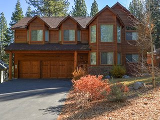 Spectacular Tahoe Home W/ Movie Theater, Hot Tub, Outdoor Fireplace & More!