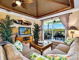 Waikoloa Beach Villas J32-LUXURY PENTHOUSE VILLA w/GOLF DISCOUNT/GOLF CLUBS!!