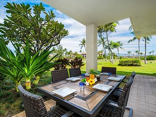 Vista Waikoloa #G104 - 2 Bedroom Villa w/Amazing Golf Views Close to Beach