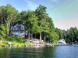 Lake Winnipesaukee Waterfront Home