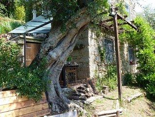 Romantisches Haus mit privatem Garten und bezauberndem Blick