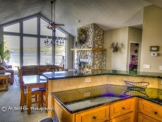 Beautiful Lakefront Home with amazing, gentle lot and private Dock!