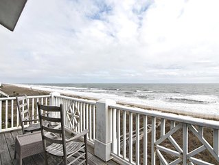 Escape to paradise in this upscale oceanfront duplex