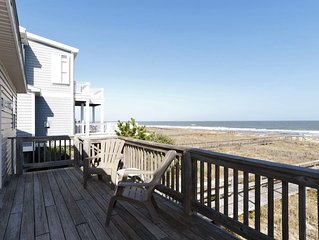The classic Kure Beach oceanfront cottage ideally located near the pier