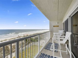 Jacksonville Beachdrifter 403, 2 Bedrooms, BeachFront, Pool, Sleeps 4