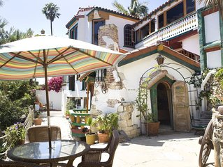 Stunning 1930s Mediterranean with Stunning Ocean Views, Fully-Equipped.