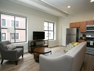 Chic 2BR in the Financial District