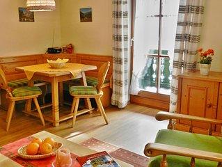 Typ D I, Ferienwohnung 2-3 Personen, 45 qm, 2 Schlafzimmer, Balkon