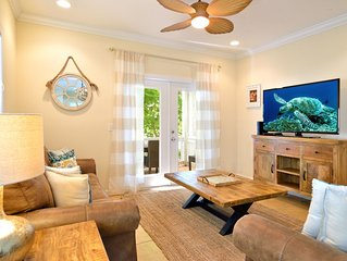 'OFF CALL' ~ Rustic, Nautical Decor With King Master Suite & Heated Pool!