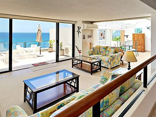 Air Conditioned with Panoramic Ocean and Bali Hai Views Puu Poa 211!