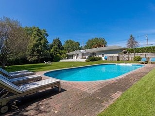 New Listing: Contemporary Southampton Home on a Secluded Half-Acre, Private Lot