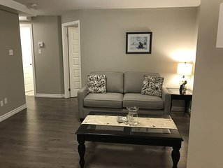 Brand new, 2 bedroom, 1 sofa bed, 1 bath fully furnished apartment