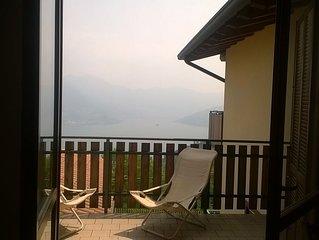 Appartamento in condominio vista PANORAMICA Lago d'Iseo