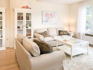 Langbehnhus - ruhige Lage, Garten, 3 Schlafzimmer, 2 Bader, Strandkorb inklusive