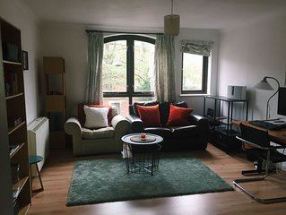Central Oxford flat, 5min from train station, next to Odeon, market and high st