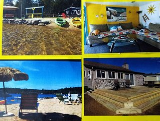 Special offer at Lakefront Cottage!! and extra bonus! The Love Shack!!