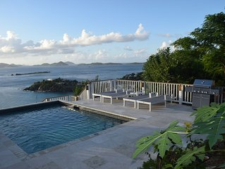 Exclusive Cruz Bay Villa! Amazing water view and sunsets!